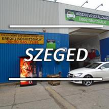 Külföldi jármű honosítás - Szeged