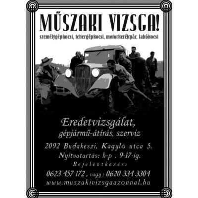 Jármű átírás Budakeszi - Ural Motor Bp.